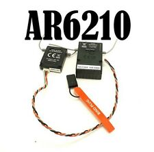 AR6210 RC Receiver with Sattelite Support JR and Spektrum DSMX 6 channel 2.4ghz