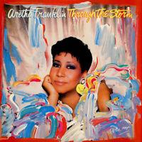 Aretha Franklin - Through The Storm (Vinyl LP - 1989 - US - Original)
