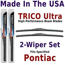 Buy American: TRICO Ultra 2-Wiper Blade Set fits listed Pontiac: 13-16-16