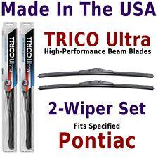 Buy American: TRICO Ultra 2-Wiper Blade Set fits listed Pontiac: 13-18-18