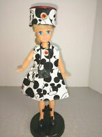 OOAK DOLL CLOTHES STACIE DOLL MOUSE DRESS CLOTHES SET #2