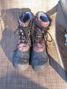 MEN'S RANGER CAMO WINTER BOOTS YOUTH SIZE 5-BEAUTIFUL USED CONDITION-TAKE A LOOK
