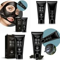 Face Mask Nose Blackhead Acne Pore Deep Remover Cleansing Strip Black Mud
