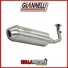 52605IPR TERMINALE COMPLETO GIANNELLI G-4 PEUGEOT GEOPOLIS 300 2013-2015 INOX/IN