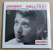 Johnny Hallyday, nous quand on s'embrasse / tu peux la prendre, CD single neuf