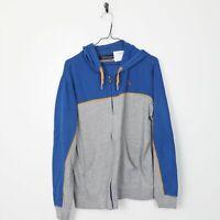 Vintage Women's KAPPA Small Logo Hoodie Sweatshirt Blue | Large L