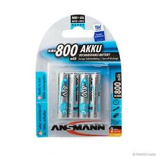 Ansmann max e Akku Micro AAA 800mAh 4er Hochlesitungs-Akku