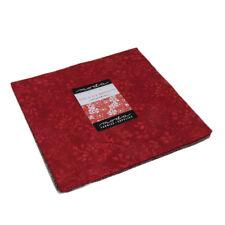 """Moda Layer Cake Fire & Ice Batiks II by Moda 42 - 10"""" cotton squares 4350LC"""
