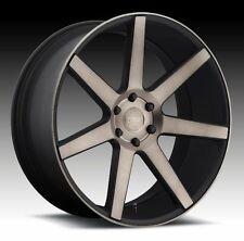 "24"" Dub Wheels Future Black Rims Fit Escalade Yukon Silverado 1500 GMC Denali 26"