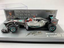 Minichamps Formel1 Mercedes GP Petronas MGP W01 M. Schumacher 2010 1:43 *OVP*