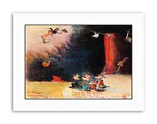 KRAZY KAT GEORGE HERRIMAN CARTOON COMIC ANIMALS Poster Picture Canvas art Prints