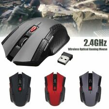 Cool Mouse Gaming Wireless Ergonomic Optical Mice PC Computer Office Dell Lenovo