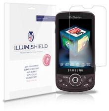 iLLumiShield Phone Screen Protector w Anti-Bubble/Print 3x for Samsung Behold 2