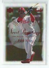 Jimmy Rollins 2001 Upper Deck Sweet Spot Sweet Beginnings Card #67  #0455/1000