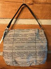 New w/tag CALVIN KLEIN handbag - gray/black