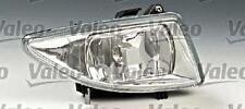 VALEO Fog Driving Light Fits O/S FORD Fiesta IV 4 Hatchback Facelift 1999-2002