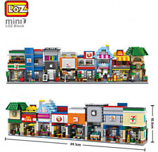 LOZ Block City Mini Street Bricks Set Architecture Building Blocks House DIY Toy