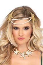 Brand New Mermaid Pearl Starfish Headband Accessory