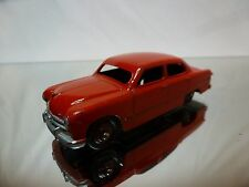 DINKY TOYS 170 FORD FORDOR SEDAN - RED1:43 - GOOD CONDITION