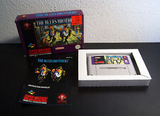 Nintendo Super Snes The Blues Brothers PAL UKV CIB Complete