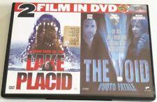 LAKE PLACID + THE VOID VUOTO FATALE 2FILM IN 1 DVD ITALIANO COMENUOVO EDITORIALE