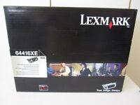Original Toner Lexmark 64416XE für Optra T644 mit Rechnung NEU & OVP