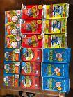 1989+Fleer+Baseball+Logo+Stickers+%26+Trading+Cards+15ct.+Lot+x+3+Plus+Bonus