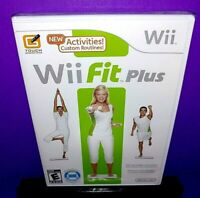 Wii Fit Plus (Nintendo Wii, 2009) No Board Brand New B532