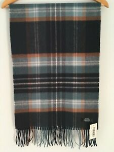Gents Pure Cashmere Scarf/Stole Made in Scotland