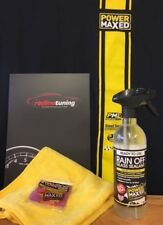 Power Maxed Rain Off Glass Sealant 500ml + Free Micro fibre,Shampoo & Ultra Wax