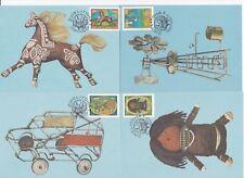 T33691 RSA Ciskei 119-122 Maximumkarten Spielzeug toys