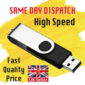 High Speed Memory USB2.0 Stick Flash Pen Thumb Drive UDisk 32GB 64GB 128GB