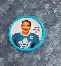 Shirriff coin # 10 George Armstrong Toronto Maple Leafs lot # 15