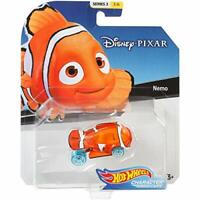 2019 Hot Wheels Disney Pixar Character Car- Nemo 1/64 Diecast Model Toy Car