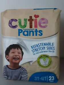 Toddler Package Of 23 Cutie Training Pants Size 3T-4T - NIP