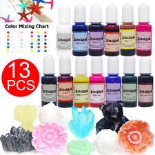 13 colori 10G Resina Epossidica Epoxy farbe UV Colore Pigmento Arte per Gioielli