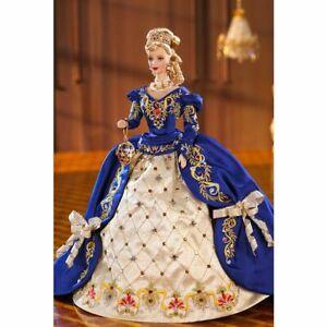1997 Limited Ed Faberge Imperial Elegance Porcelain Barbie NRFB w/Mattel Shipper