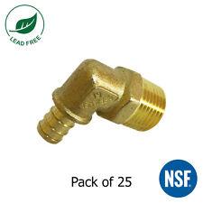 25 12 Pex Male Npt Elbow Brass Crimp Fitting