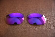 PolarLenz POLARIZED Purple Replacement Lens for-Oakley Half Wire 2.0 sunglasses