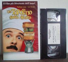 VHS FILM Cartoni Animati UN TOPOLINO SOTTO SFRATTO dreamworks no dvd(VHS9)