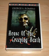 VHS - House of the Creeping Death - George A. Romero - Horror - Videokassette