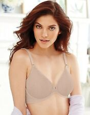 CLEARANCE!!! Bali Comfort Back Smoothing Front Close Bra - Style 3P66 Nude 38DD