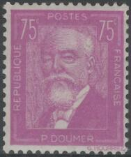 "FRANCE STAMP TIMBRE N° 292 "" PAUL DOUMER 75c LILAS 1933  "" NEUF xx TTB"