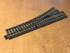 Roco H0 61140 Geoline Gleis Weiche links 22,5° L.: 200 mm gebraucht