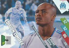OM-EDITION LIMITED ANDRE AYEW # GHANA MARSEILLE CARD ADRENALYN FOOT 2015 PANINI