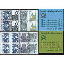 """Berlin Markenhefte Nr. 14-15 """"Sehenswürdigkeiten"""""""