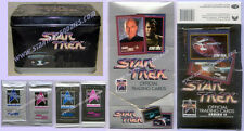 SEALED TIN Star Trek TOS/TNG Impel 1991 with ALL 310 Series I & II CARDS PLUS!