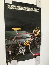 Vintage Original TREK Bicycle Poster