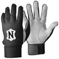 Neumann LB Pro Linebacker Football Gloves Padded Tack-field NCAA Black or Gray