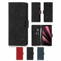 Wallet PU Leather Case Cover For Sony Xperia 1/10/10 Plus/L3/XZ3/XZ2 Premium